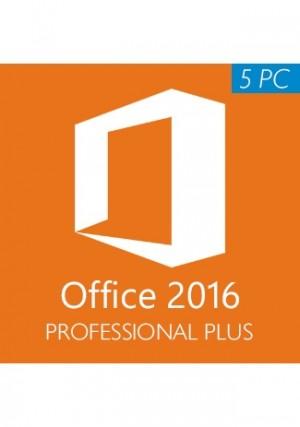 Microsoft Office 2016 Professional Plus CD-KEY (5 PC)